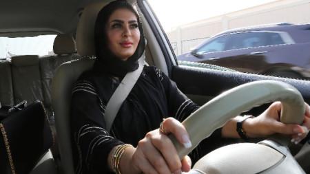 Забраната жените в Саудитска Арабия да шофират бе свалена през 2018 г.