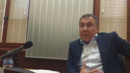 Кметът на Несебър Николай Димитров