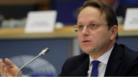 Olivér Várhelyi, comisario europeo de Vecindad y Ampliación
