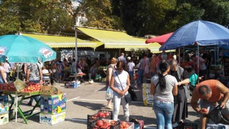 Пазарният ден в Благоевград