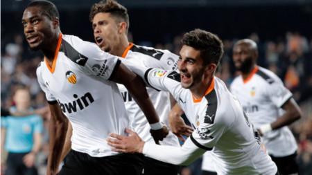Валенсия и Атлетико (Мадрид) завършиха 2:2