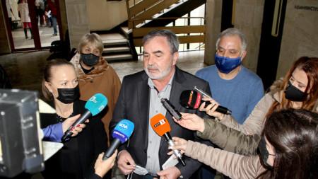 Главният държавен здравен инспектор Ангел Кунчев в Пловдив