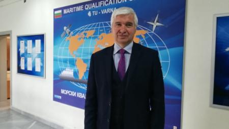 Коста Андреев, флотилен адмирал, мениджър