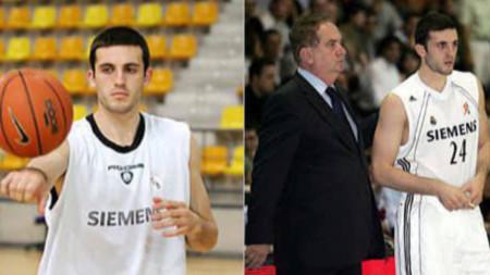 Филип Виденов с екипа на Реал.