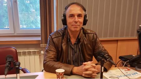 """Проф. Пламен Гацов в студиото на програма """"Христо Ботев"""""""