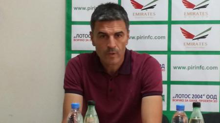 "Иво Тренчев - старши треньор на ""Пирин"" (Благоевград)"