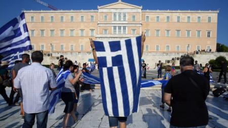 С пари от Русия се финансирали протести срещу Преспанското споразумение със Скопие, което отваря пътя на страната към ЕС и НАТО.