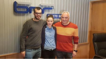 Любомир Мартинов, Веселeна Марчева и Мартин Любомиров