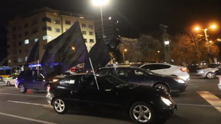 Протестът срещу избора на Валери Симеонов за зам.-председател на парламента на 25 ноември.