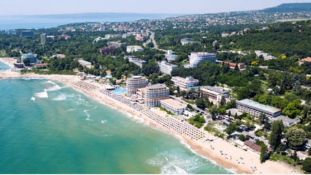 Sts. Constantine and Helena resort near Varna