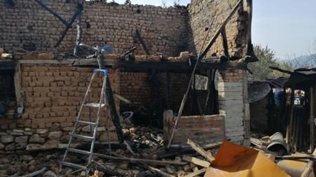 Последици от пожара в Старосел