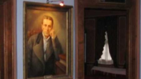 Портрет на Тодор Каблешков в родната му къща