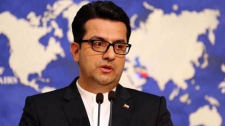 Абас Мусави, говорителят на външното министерство на Иран