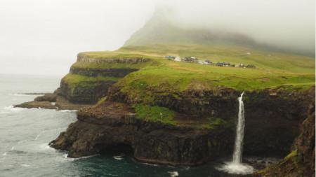 Кадър от Фарьорските острови
