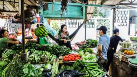 Пазар във Виетнам