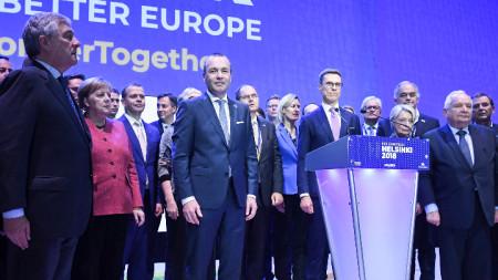 Германецът Манфред Вебер е кандидатът на Европейската народна партия за председател на Европейската комисия след изборите догодина.