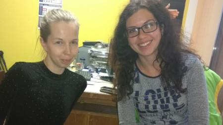 Анна Павлова-Лайерер и Тамара Ангелова