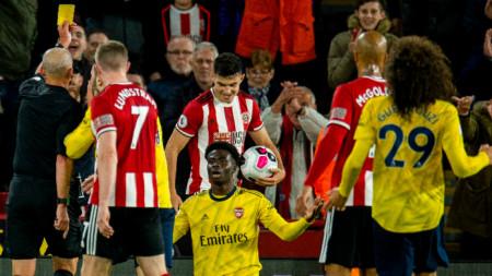 Арсенал загуби с 0:1 гостуването си на Шефилд Юн