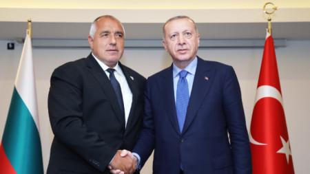 Бойко Борисов и Реджеп Ердоган