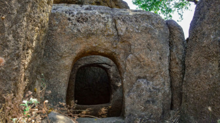 The Dolmen at Nachovi Chairi locality near Topolovgrad is one of the best-preserved in Bulgaria's territory