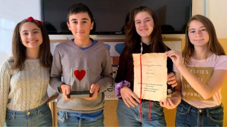 Ивайла Александрова, Асен Чакъров, Елис Алиева и Мервен Ашък