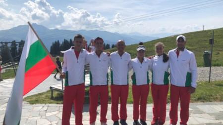 Българските отбори в Клостерс.