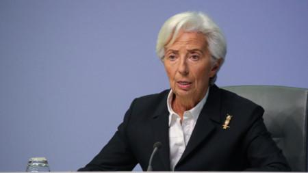 Кристин Лагард, президент на ЕЦБ