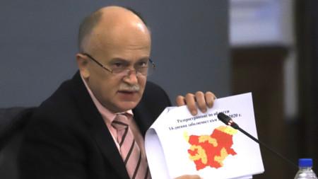 Заместитель министра здравоохранения д-р Бойко Пенков