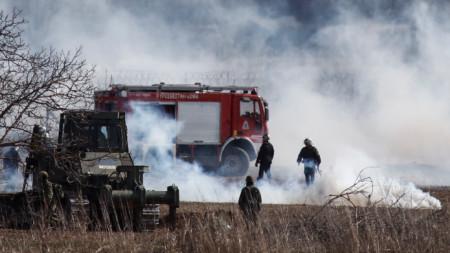 Гръцката полиция е употребила водни струи, сълзотворен газ и гумени куршуми по мигранти от Турция