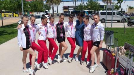 Българки са 4-ти в света на естетическа гимнастика