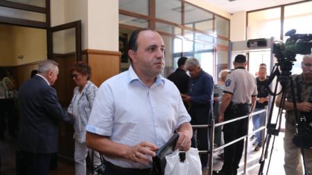 Бившият кмета на Костенец Радостин Радев в Специализирания наказателен съд
