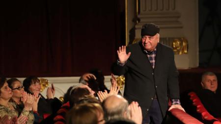 Иван Ничев на празничния концерт, посветен на 70-годишнината на НАТФИЗ