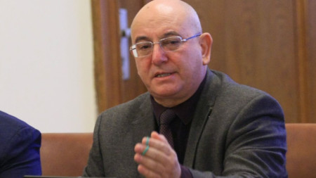 Емил Димитров на срещата в Министерски съвет за водната криза в Перник