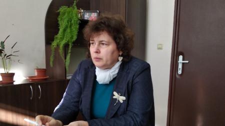 д-р Мария Каменова, заместник директор на РЗИ- Монтана