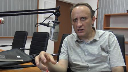 Николай Гундеров в Радио Шумен