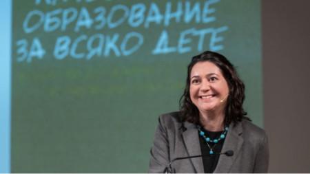 """Нели Колева, ръководител на проекта """"Нов път за нови таланти в преподаването"""""""