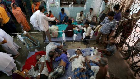 Над 100 са жертвите на алкохол менте в два индийски щата.