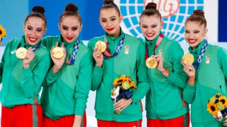 Ансамбълът на България се окичи със златните медали на Олимпиадата в Токио