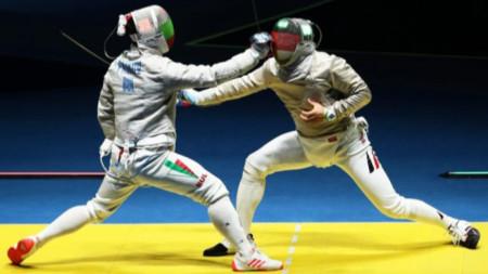 Панчо Пасков (вляво) отново на състезание след 2 години