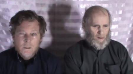 Австралиецът Тимоти Уийкс и американецът Кевин Кинг на видеозапис през 2017 г.