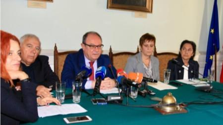 Ръководството на Българската академия на науките и Събранието на академиците и член-кореспондентите дадоха пресконференция.