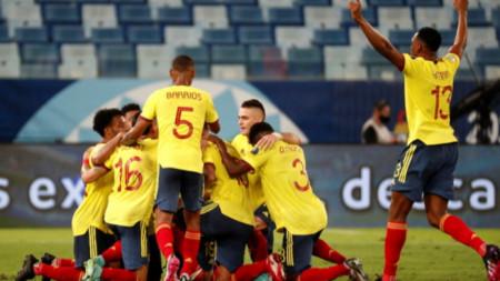 Колумбия победи Еквадор с 1:0 на Копа Америка