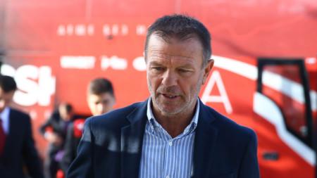 Треньорът Стойчо Младенов дебютира с победа в ЦСКА София