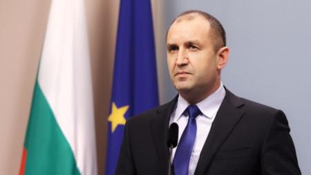 Staatspräsident Rumen Radew