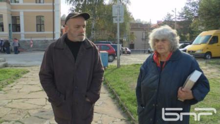 Роза Георгиева и Александър Александров