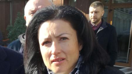 Земеделският министър Десислава Танева