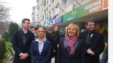 Мая Манолова в Стара Загора