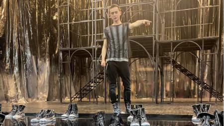 Александър Тонев в ролята на Ромео