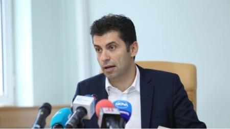 Кирил Петков, икономически министър