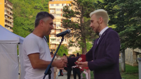 Кореспондентът на БНР Пламен Христов получи наградата